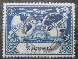 Poštovní známka Nigérie 1949 UPU, 75. výroèí Mi# 67