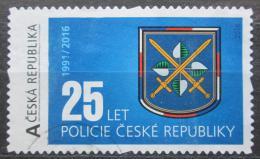 Poštovní známka Èeská republika 2016 Policie ÈR, 25. výroèí - privátní vydání
