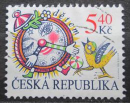 Poštovní známka Èeská republika 2000 Mezinárodní den dìtí Mi# 258