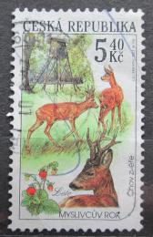 Poštovní známka Èeská republika 2000 Myslivcùv rok Mi# 273