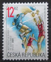 Poštovní známka Èeská republika 2001 ME ve volejbalu Mi# 290