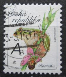 Poštovní známka Èeská republika 2016 Rosnièka zelená Mi# 900