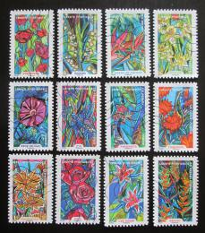 Poštovní známky Francie 2016 Kvìtiny Mi# 6500-11 Kat 21.50€