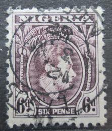Poštovní známka Nigérie 1951 Král Jiøí VI. Mi# 57 C