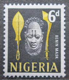 Poštovní známka Nigérie 1961 Maska Mi# 98