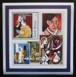 Poštovní známka Guinea-Bissau 2001 Umìní, Pablo Picasso Mi# 1623 Block