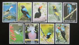 Poštovní známky Guinea 1998 Ptáci Mi# N/N