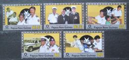 Poštovní známky Papua Nová Guinea 2007 Záchranáøi Mi# 1277-81 Kat 8.50€