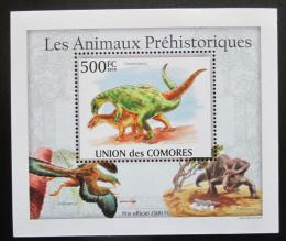 Poštovní známka Komory 2009 Dinosauøi DELUXE Mi# 2646 Block
