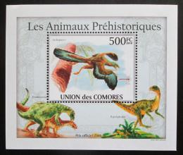 Poštovní známka Komory 2009 Dinosauøi DELUXE Mi# 2647 Block