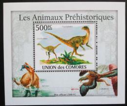 Poštovní známka Komory 2009 Dinosauøi DELUXE Mi# 2648 Block