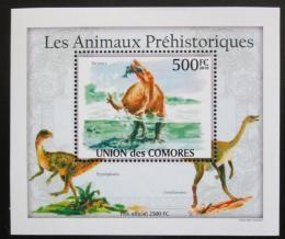 Poštovní známka Komory 2009 Dinosauøi DELUXE Mi# 2649 Block