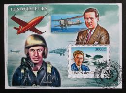 Poštovní známka Komory 2009 Historie letectví Mi# Block 456 Kat 15€