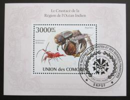 Poštovní známka Komory 2009 Krabi Mi# Block 570 Kat 15€
