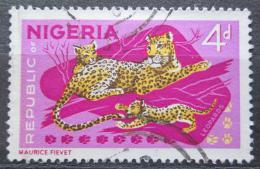 Poštovní známka Nigérie 1966 Levhart skvrnitý Mi# 180 A