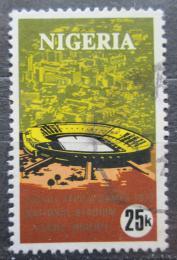 Poštovní známka Nigérie 1973 Pan-africké sportovní hry, národní stadion Mi# 272
