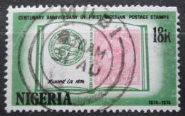 Poštovní známka Nigérie 1974 První známky, 100. výroèí Mi# 302