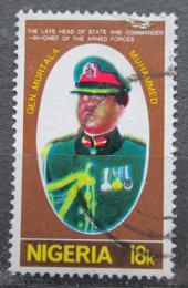 Poštovní známka Nigérie 1977 Generál Murtala Ramat Muhammed Mi# 329