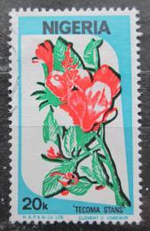 Poštovní známka Nigérie 1986 Kvìtiny Mi# 479