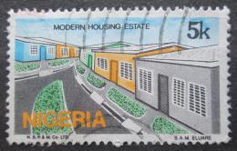 Poštovní známka Nigérie 1986 Moderní architektura Mi# 476