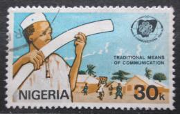 Poštovní známka Nigérie 1983 Svìtový rok komunikace Mi# 419