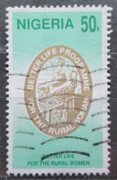 Poštovní známka Nigérie 1992 Zlepšení žívota žen Mi# 594