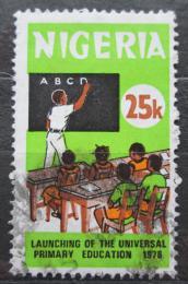 Poštovní známka Nigérie 1976 Základní vzdìlání Mi# 322