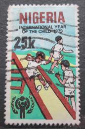 Poštovní známka Nigérie 1979 Mezinárodní rok dìtí Mi# 361