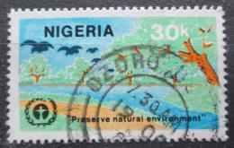 Poštovní známka Nigérie 1982 Ochrana životního prostøedí Mi# 398