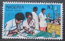 Poštovní známka Nigérie 1986 Technické vzdìlávání Mi# 486