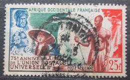 Poštovní známka Francouzská Západní Afrika 1949 UPU, 75. výroèí Mi# 59 Kat 10€
