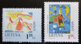 Poštovní známky Litva 1997 Evropa CEPT Mi# 636-37