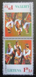 Poštovní známky Litva 1998 Evropa CEPT, slavnosti Mi# 664