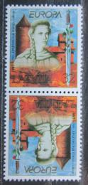 Poštovní známky Lotyšsko 1997 Evropa CEPT Mi# 453