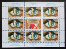 Poštovní známky Èerná Hora 2001 Boj proti násilí na ženách Mi# N/N