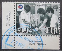 Poštovní známka Fidži 2018 Peace Corps, 50. výroèí Mi# N/N