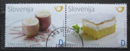 Poštovní známky Slovinsko 2011 Místní kuchynì Mi# 923-24