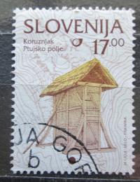 Poštovní známka Slovinsko 1999 Kukuøièné silo Mi# 260