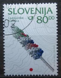 Poštovní známka Slovinsko 1997 Velikonoèní dekorace Mi# 177
