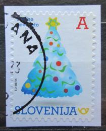 Poštovní známka Slovinsko 2017 Vánoèní stromeèek Mi# 1273
