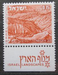 Poštovní známka Izrael 1971 Wüste Negev Mi# 526
