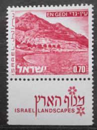 Poštovní známka Izrael 1972 Mrtvé moøe Mi# 533