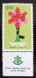 Poštovní známka Izrael 1972 Den padlých Mi# 551