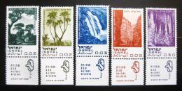 Poštovní známky Izrael 1970 Pøírodní zajímavosti Mi# 456-60