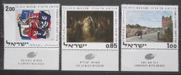 Poštovní známky Izrael 1970 Umìní Mi# 492-94