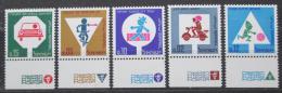 Poštovní známky Izrael 1966 Bezpeènost silnièního provozu Mi# 360-64