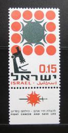 Poštovní známka Izrael 1966 Boj proti rakovinì Mi# 377