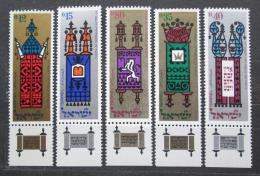 Poštovní známky Izrael 1967 Židovské slavnosti Mi# 393-97