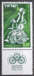 Poštovní známka Izrael 1968 Mezinárodní hry tìlesnì postižených Mi# 432