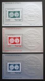 Poštovní známky Izrael 1974 Výstava JERUSALEM 73 Mi# Block 11-13
